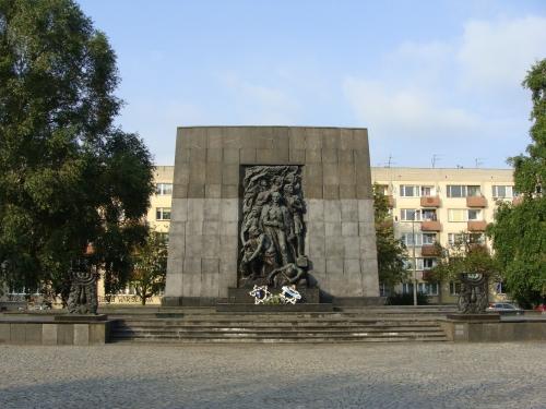 Denkmal für die Opfer des Warschauer Ghettoaufstandes